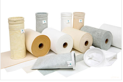 What is the material of dust filter bags?