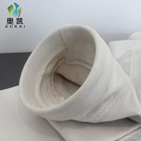 750g Fiberglass Woven Filter Bags with PTFE Membrane